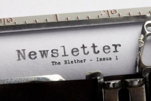The Blether - Issue 1 - IoHDT inaugural Newsletter