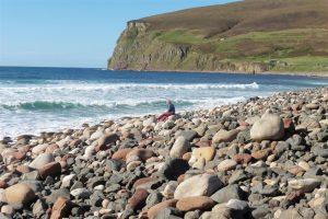 Rackwick beach stones
