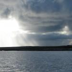 Crockness Martello Tower from Weddel Sound