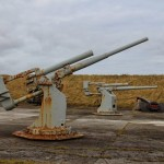 Scapa Flow Visitor Centre & Museum Guns
