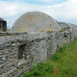 Walls coast artillery battery adaptive reuse of crofts for accommodation