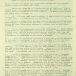 Air Raid Intelligence Report 10.02.1940. Extract from National Archives, ref. WO 166/1234