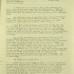 Air Raid Intelligence Report 2.02.1940. Extract from National Archives, ref. WO 166/1234