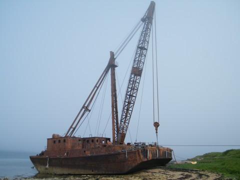 ND39SW 16 - Floating Crane