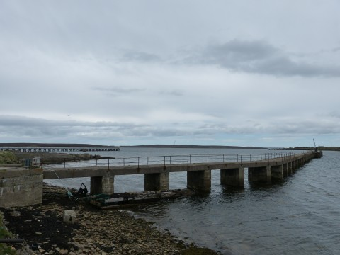 ND39SW 17 - West Pier, Lyness