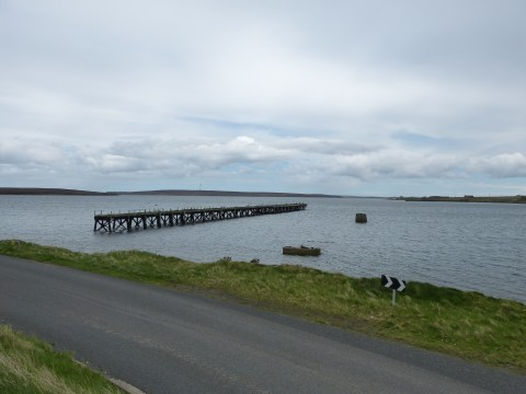 ND39SW 20.14 - North Pier, Lyness
