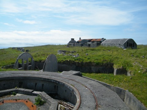 ND39SW 46 - Walls Coast Artillery Battery