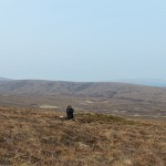 The view from C company, 7th Btn KOSB's positions on Wee Fea