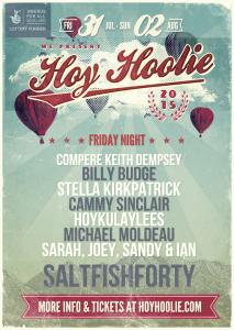 Hoy Hoolie Fri Concert poster